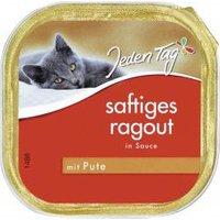 Jeden Tag Katze Saftiges Ragout in Sauce mit Pute