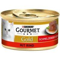 Gourmet Gold Schmelzender Kern mit Rind