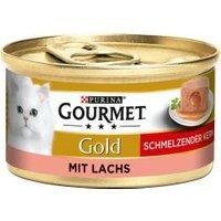 Gourmet Gold Schmelzender Kern mit Lachs