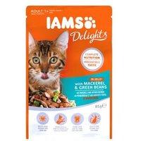 Iams Katzenfutter mit Makrele und Bohnen