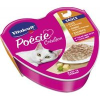 Vitakraft Poésie Sauce + Pute in Käsesauce