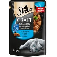 Sheba Craft Collection Zarte Stückchen mit Thunfisch in Sauce