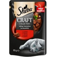 Sheba Craft Collection Saftige Stückchen mit Rind in Sauce