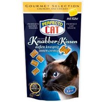 Perfecto Cat Feine Knabber Kissen mit Käse