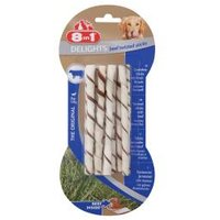 8in1 Delights Twisted Sticks Beef