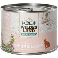 Wildes Land Katze Adult Huhn und Lachs mit Cranberries & Distelöl
