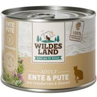 Wildes Land Katze Adult Ente & Pute mit Cranberries & Distelöl
