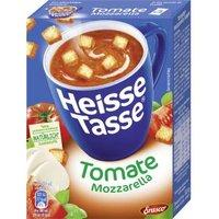 Erasco Heisse Tasse Tomate-Mozzarella-Suppe