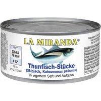 La Miranda Thunfisch-Stücke in eigenem Saft
