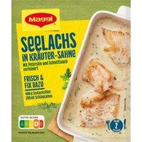 Maggi Fix für Seelachs in Kräuter-Sahne