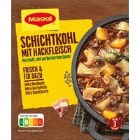 Maggi fix & frisch Schichtkohl mit Hackfleisch
