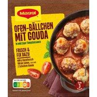Maggi Fix für Ofen Bällchen mit Gouda