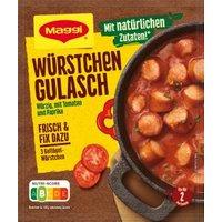 Maggi Fix für Würstchen Gulasch