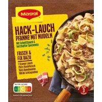 Maggi fix & frisch Hack-Lauch-Pfanne mit Nudeln