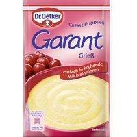 Dr. Oetker Garant Creme Pudding Grieß