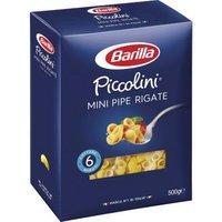 Barilla Pasta Nudeln Piccolini Mini Pipe Rigate