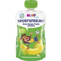 Hipp Kinder Sportsfreund Quetschbeutel Birne-Banane-Traube mit Hafer