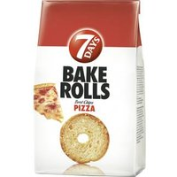 7 Days Bake Rolls Brot Chips Pizza