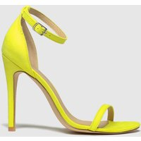 Schuh Yellow Passion High Heels