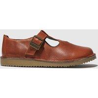 Red Or Dead Orange Ziggy Flat Shoes