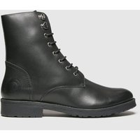Red Or Dead Black Rod Robbie Leather Lace Up Boots