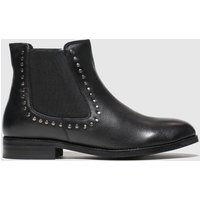 Schuh Black Starry Boots