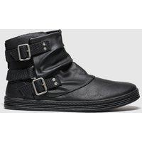 Blowfish Malibu Black Francesca Boots