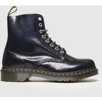 Dr Martens Black 1460 Pascal Duo Chrome Boots