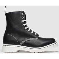 Dr Martens Black & White 1460 Pascal Bw Boots