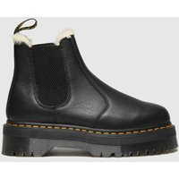 Dr Martens Black 2976 Quad Fur Lined Boots
