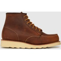 Red Wing Brown 6-inch Classic Moc Boots