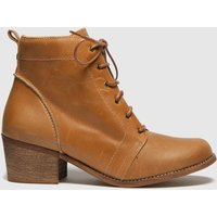 Red Or Dead Tan Revision Leather Lace Up Boots