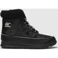 SOREL Black Explorer Carnival Boots