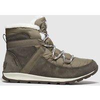 SOREL Khaki Whitney Flurry Boots