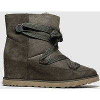 Ugg Brown Classic Femme Lace Up Boots