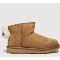 UGG-Tan-Classic-Mini-Bow-Ii-Boots