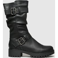 Schuh Black Tempest Boots