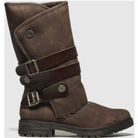 Blowfish Malibu Brown Rider Shearling Boots