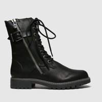 Blowfish Malibu Black Rauly Vegan Boots