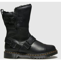 Dr-Martens-Black-Kristy-Mid-Fur-Lined-Boots