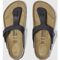 BIRKENSTOCK-Black-Gizeh-Sandals