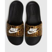 Nike Tan Victori One Sandals