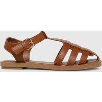 Schuh Tan Luella Fisherman Sandals