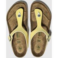 BIRKENSTOCK-Yellow-Gizeh-Vegan-Sandals