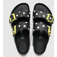 Birkenstock Black & White Arizona Dots Sandals