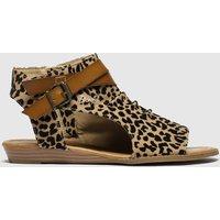 Blowfish Malibu Brown & Black Balla Sandals