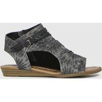Blowfish Malibu Black Blumoon Sandals