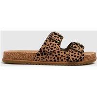 Blowfish Malibu Black & Brown Fades Vegan Sandals