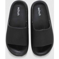Schuh Black Hani Mule Flatform Flat Shoes