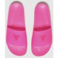 Guess Pink Pop Colour Slide Sandals